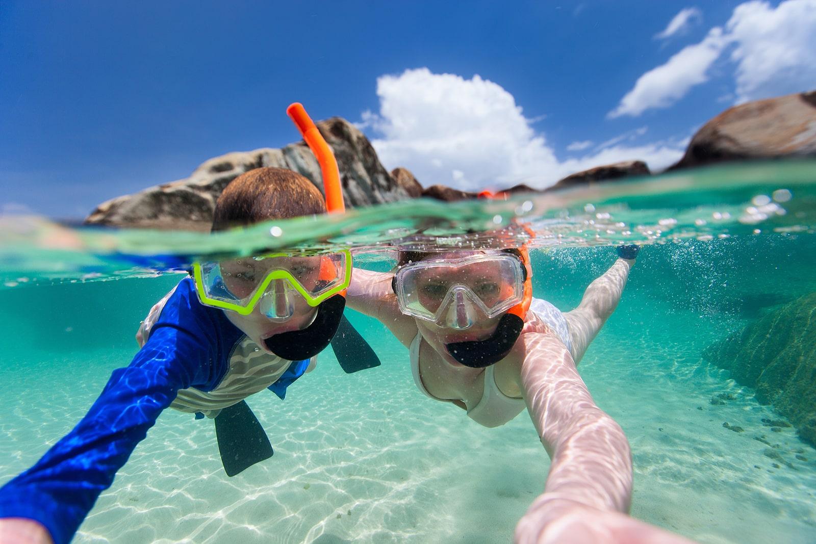 Krystal Cancun Timeshare Reviews a Snorkel Excursion at Belize Barrier Reef